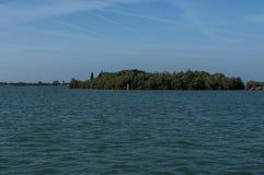 Insel in Adreatic-Meer nahe Venedig Lizenzfreie Stockbilder