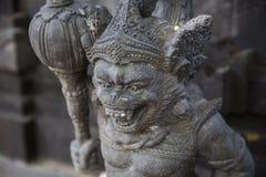 Insel Bali Skulpturen von Göttern und von Geist Stockfotografie