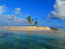Insel bei San Blas, Panama lizenzfreies stockfoto