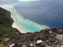 Insel Bohey Dulang stockfotos