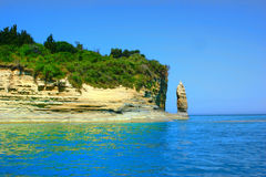 Insel Corfu Royalty Free Stock Images