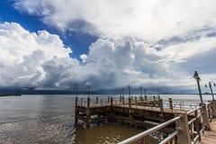 Insel der Küste Lizenzfreie Stockfotos