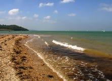 Insel der Wight-Küste lizenzfreies stockfoto