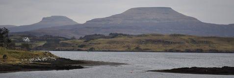 Insel der Skye Winterfarben Lizenzfreie Stockfotos