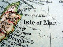 Insel des Mannes Stockfotografie