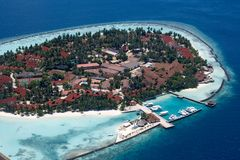 Insel des Meeres Lizenzfreies Stockbild