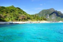 Insel. EL Nido, Philippinen stockbilder