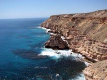 Insel-Felsen, Kalbarri, Australien Stockbild