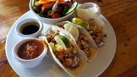 Insel-Fisch-Tacos Lizenzfreies Stockbild