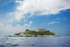 Insel-Fort Lizenzfreies Stockfoto
