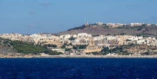 Insel Gozo Stockfotos