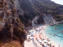 Insel Griechenland Agiofillis Lefkas Stockfotografie