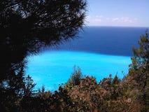 Insel Griechenland Agiofillis Lefkas Lizenzfreies Stockfoto