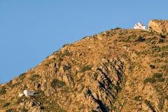Insel Griechenlands Karapathos Menetes-Dorf Lizenzfreie Stockfotografie