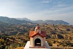 Insel Griechenlands Karapathos Menetes-Dorf Lizenzfreies Stockfoto