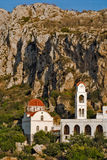 Insel Griechenlands Karapathos Menetes-Dorf Lizenzfreie Stockfotos