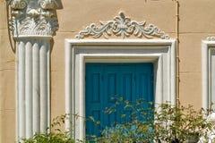Insel Griechenlands Karapathos Menetes-Dorf Stockbild