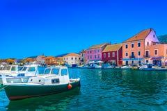 Insel Hvar in Kroatien, adriatisches Meer Lizenzfreie Stockfotos