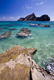 Insel Ilheude Baixo, Madeira-Inseln Stockfoto