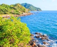 Insel im Andaman Meer Lizenzfreie Stockfotos