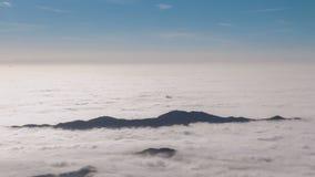 Insel im Himmel stock footage