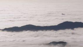 Insel im Himmel stock video