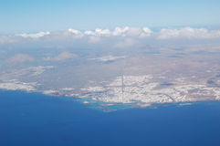 Insel im Ozean Lizenzfreie Stockfotos