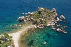 Insel Isola Bella Lizenzfreie Stockfotos