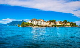 Insel Isola Bella im Maggiore See, Borromean-Inseln, Stresa P Lizenzfreie Stockbilder
