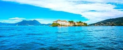 Insel Isola Bella im Maggiore See, Borromean-Inseln, Stresa P stockfotografie