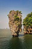 Insel Ko Tapu, Thailand Stockbild