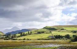 Insel ländlicher Landschaft Skye lizenzfreies stockfoto