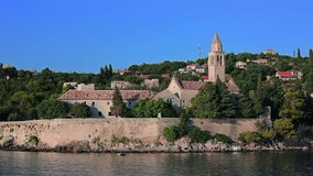 Insel Lopud, Dubrovnik-Archipel stock video footage