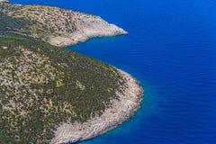 Adriatische Landschaft - Insel Losinj Lizenzfreie Stockfotos