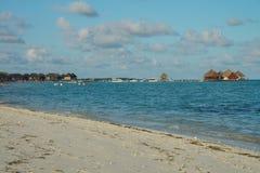 Insel Malediven Kani im April 2015 Lizenzfreie Stockfotos
