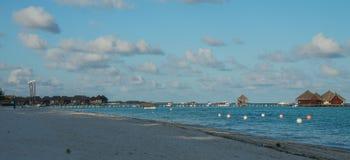 Insel Malediven Kani im April 2015 Stockbild
