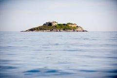 Insel Mamula Stockbild