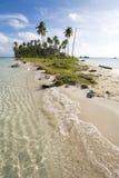 Insel nahe Sipadan Stockfoto