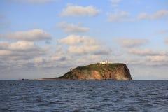Insel in OstBosfor Straße Stockfoto