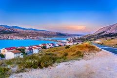 Insel-PAG in Kroatien, Europa Lizenzfreie Stockfotos