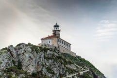 Insel Palagruza der Leuchtturm 2 Lizenzfreies Stockfoto