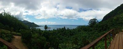 Insel-Panorama Lizenzfreies Stockfoto