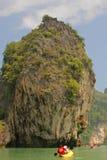 Insel, Phang Nga, Thailand Stockbilder
