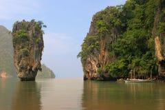 Insel, Phang Nga, Thailand Lizenzfreies Stockfoto
