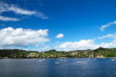 Insel Samana, Dominikanische Republik lizenzfreies stockfoto