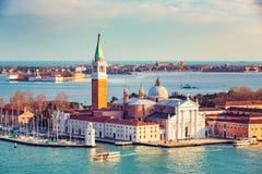 Insel San-Giorgio Maggiore, Venedig Lizenzfreie Stockfotos