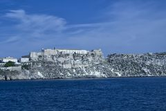 Insel Sans Nicola Tremiti für das adriatische Meer Lizenzfreies Stockfoto