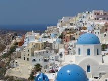 Insel Santorini Stockfoto