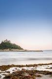 Insel-Schloss Stockfoto