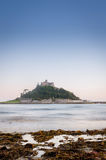 Insel-Schloss und Ozean Lizenzfreies Stockbild